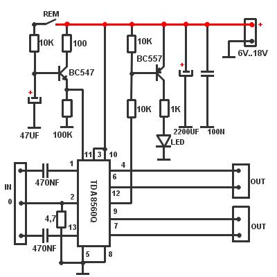 TDA8560Q Car Radio Power Amplifier IC