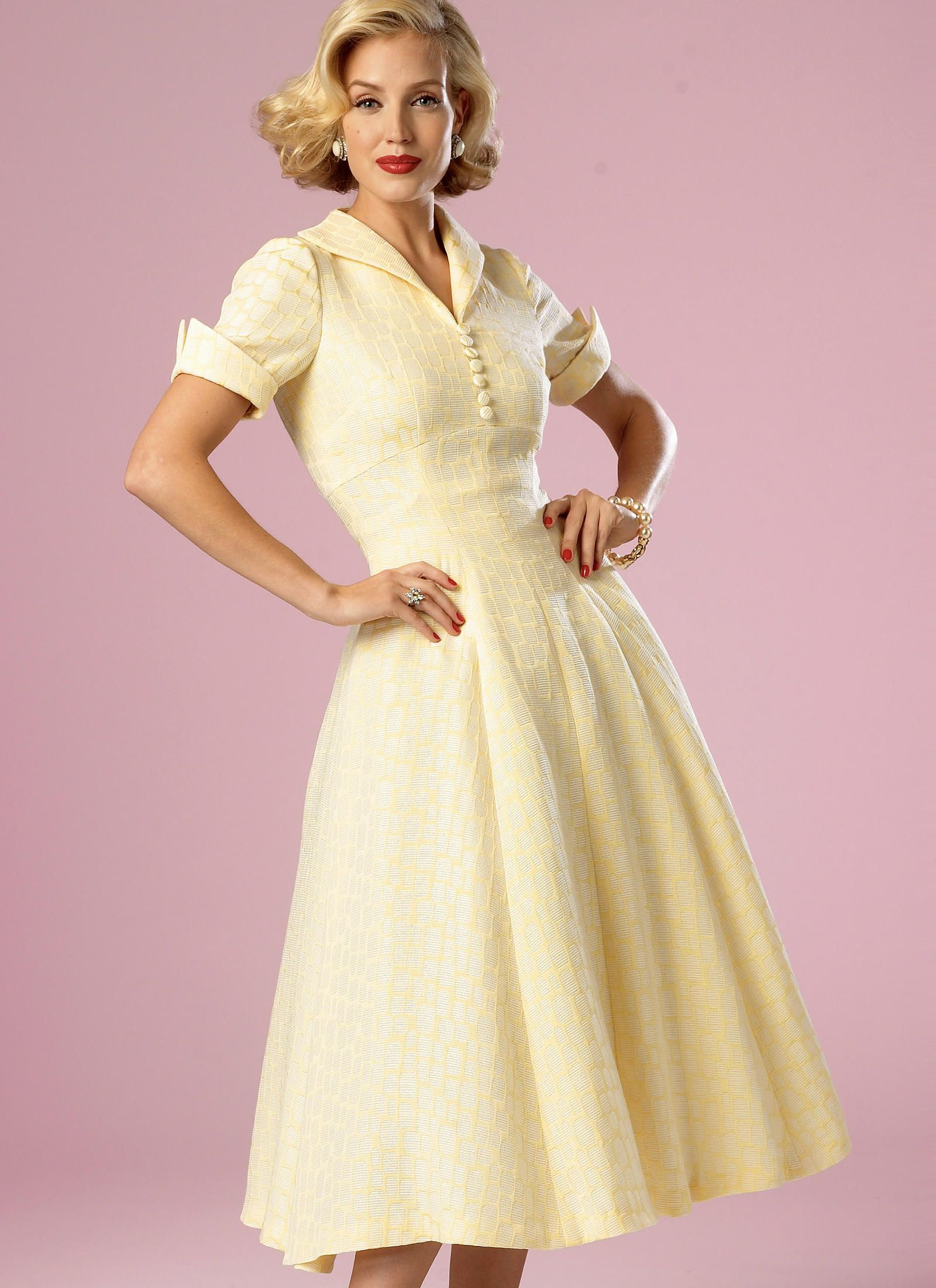 B6018 | Butterick Patterns - voor linnen bloemenprint | dresses ...