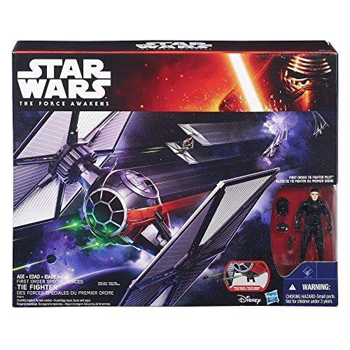 Star Wars The Force Awakens 3.75-inch Vehicle First Order Special Forces TIE Fighter. Star Wars Gifts. Gifts and Presents for Star Wars Fan(atic)s!