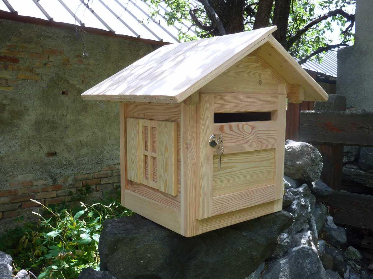boite aux lettres en bois esth tiques et durables m l ze. Black Bedroom Furniture Sets. Home Design Ideas