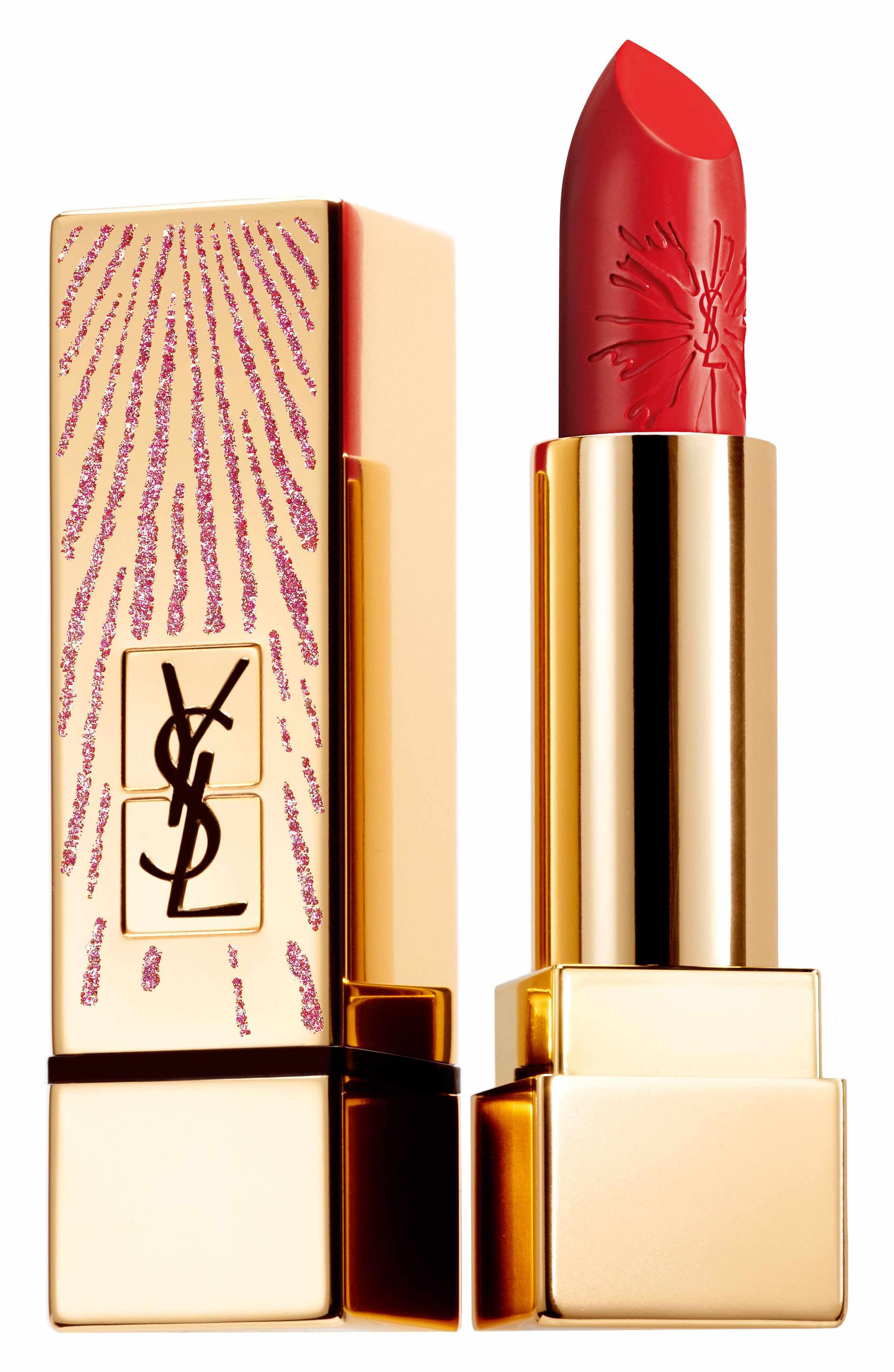 Yves Saint Laurent Rose Red Pumpyves saint laurent concealersaint laurent yvesofficial online website