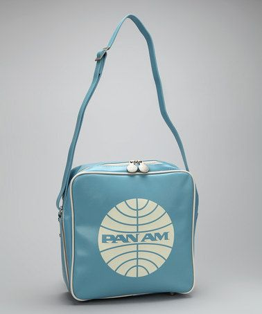 Take a look at this Flight Blue Innovator Shoulder Bag by Pan Am on #zulily, with amazing prices.