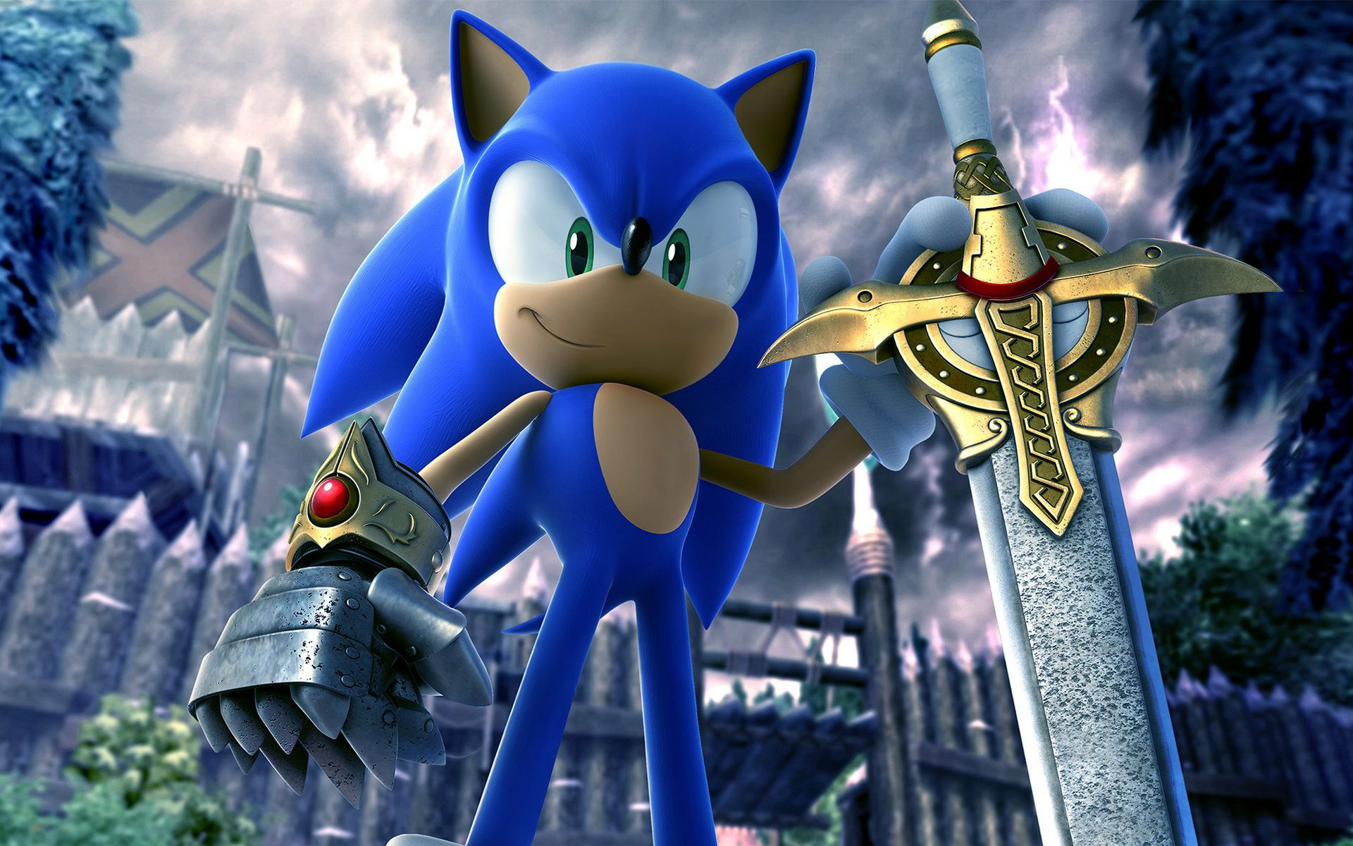 Sonic And The Black Knight Sonic Cartoon Wallpaper Sonic The Hedgehog