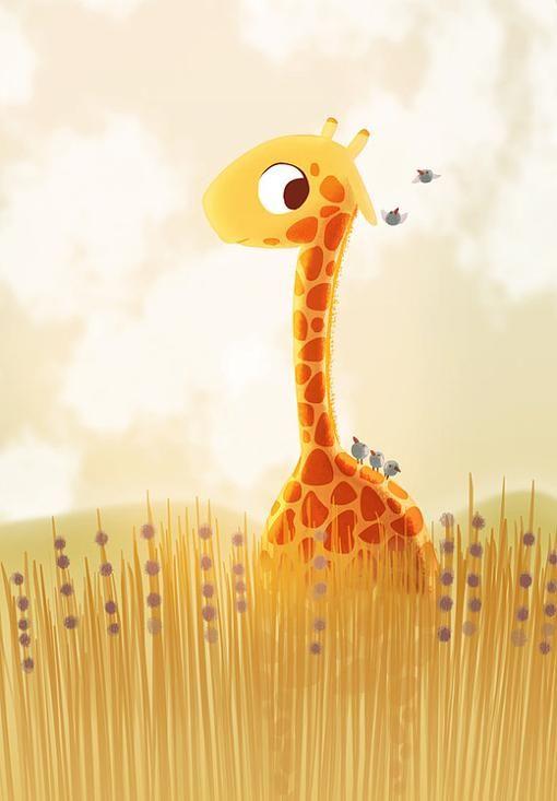 jirafa | Jirafas♡ | Pinterest | Giraffe, Illustrations and Animal
