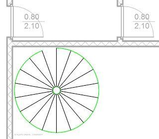 Scala a chiocciola autocad cerca con google logo for Disegnare una scala a chiocciola con autocad