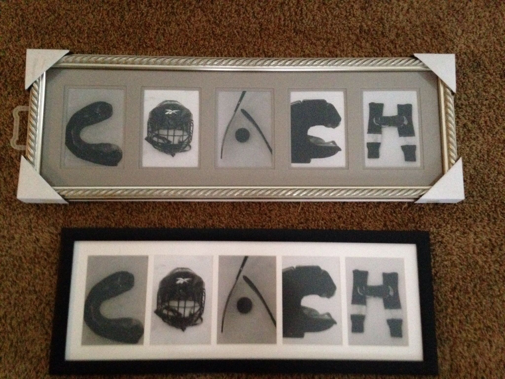 Hockey Coaches Gift I Made Diy Hockey Pinterest