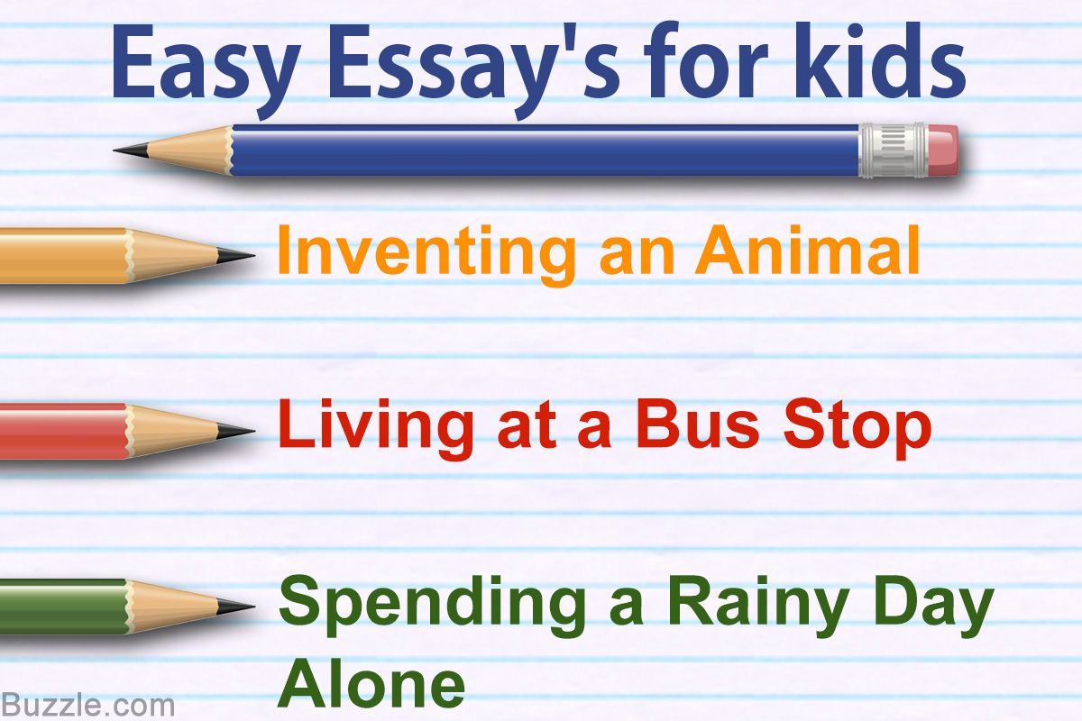 Essay Topics For Kids That Help Sharpen Their Writing