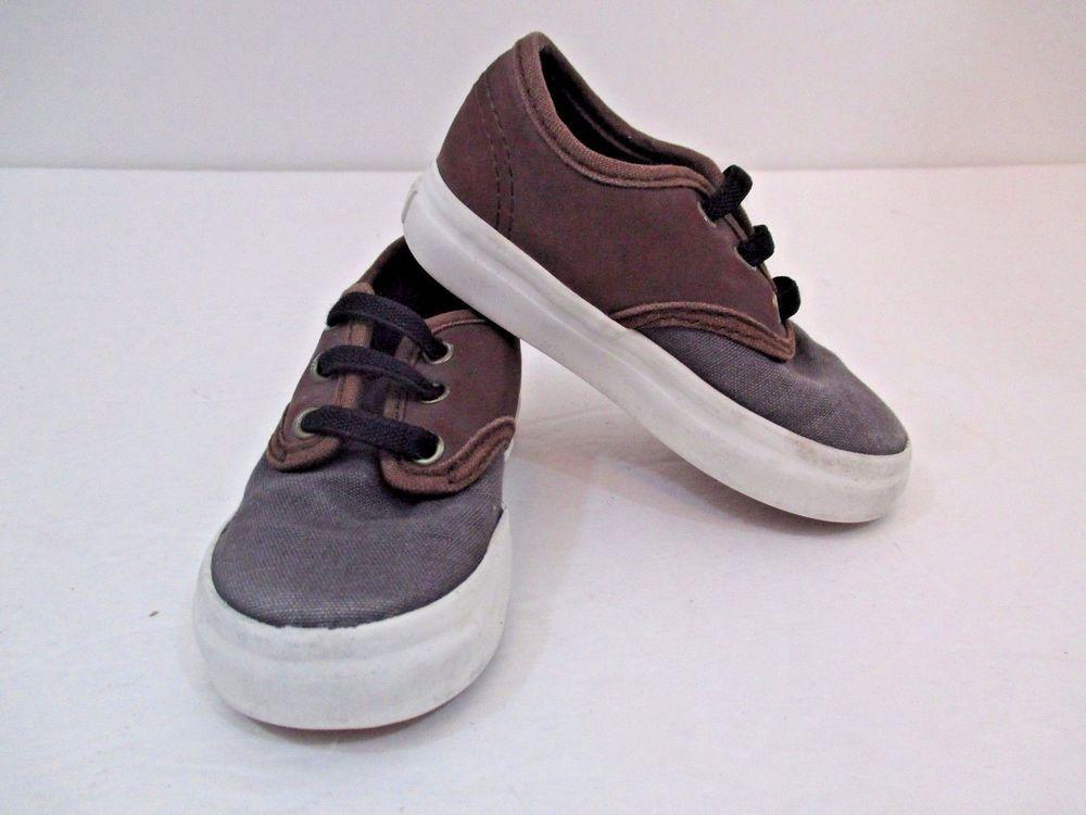 6f4d5d247e8f3e Vans Lil Kids Chima Ferguson Pro Two Tone Skate Shoes Gray Teak Size US 5