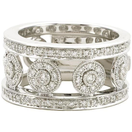 Charriol-Flamme-Blanche-Ring