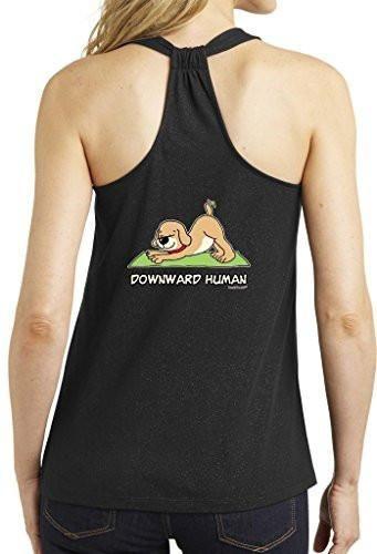 Yoga Clothing For You Ladies Downward Human Loop Tank
