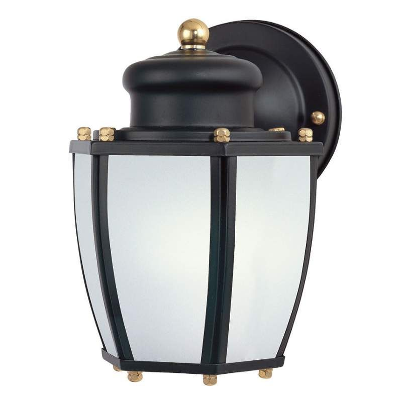 """Westinghouse 6451600 7.75"""" Tall 1 Light Outdoor Wall Sconce Matte Black Outdoor Lighting Wall Sconces Outdoor Wall Sconces"""