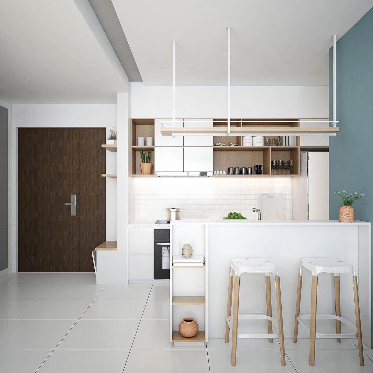 Scandinavian Kitchens Find Your Style Here: Small Modern Apartment Design With Asian And Scandinavian