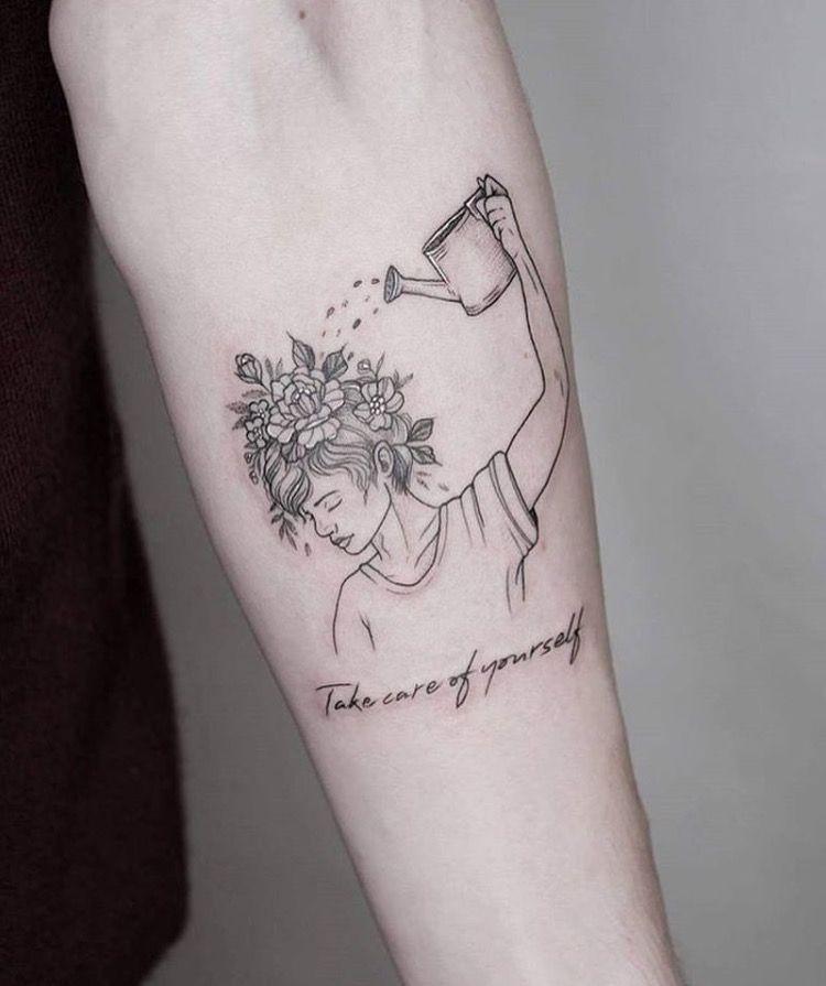 Take care of yourself tattoo.. Awesome tattoos