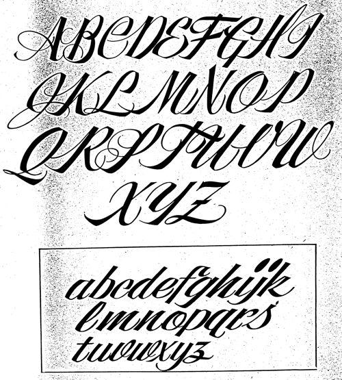 Fancy Script Tattoo Generator: Alf Becker's 268th Lettering