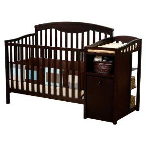 Exceptional DELTA ESPRESSO CRIB CHANGING TABLE And CRIB