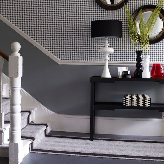 Living Room Decorating Ideas With Dado Rail how to decorate with grey | dado rail, dark grey and teeth