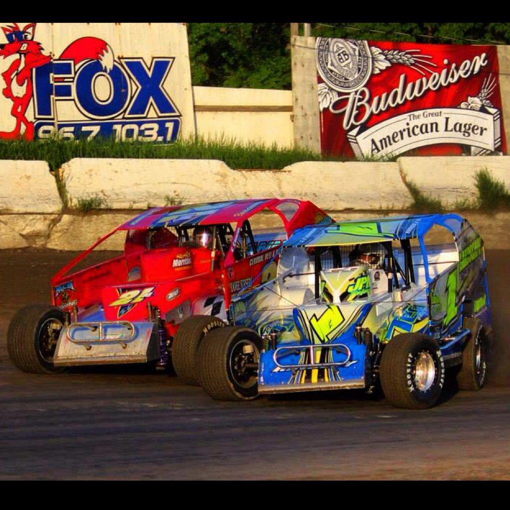 Big Block Modified Racing At Orange County Fair Speedway