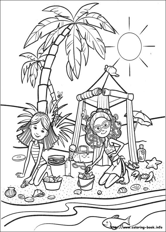 groovy girls coloring pages-#18