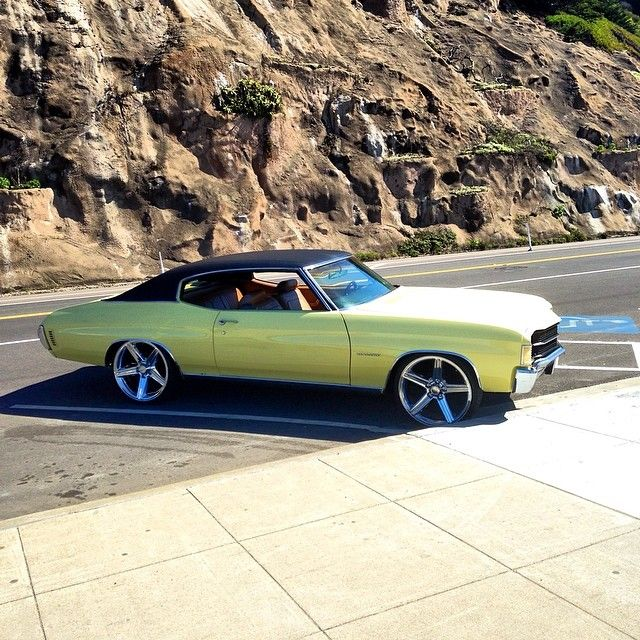 72 Chevelle Iroc Wheels Concave 22 Inch Chevelle Non Stock And Pro