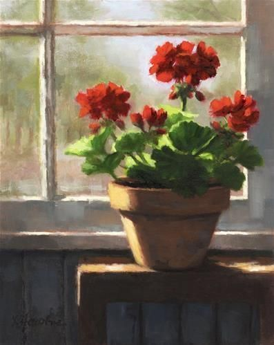 - Original Fine Art for Sale - © Linda JacobusWindow