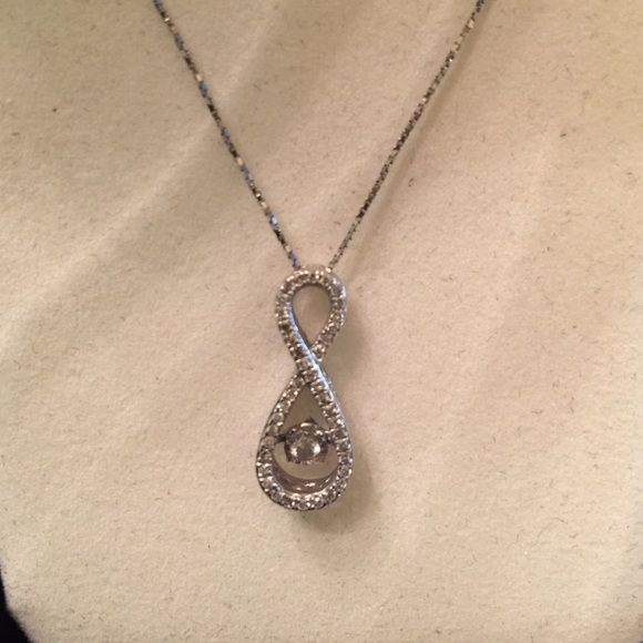 Kay Jewelers Diamond Infinity Necklace Gift Box Kay Jewelers