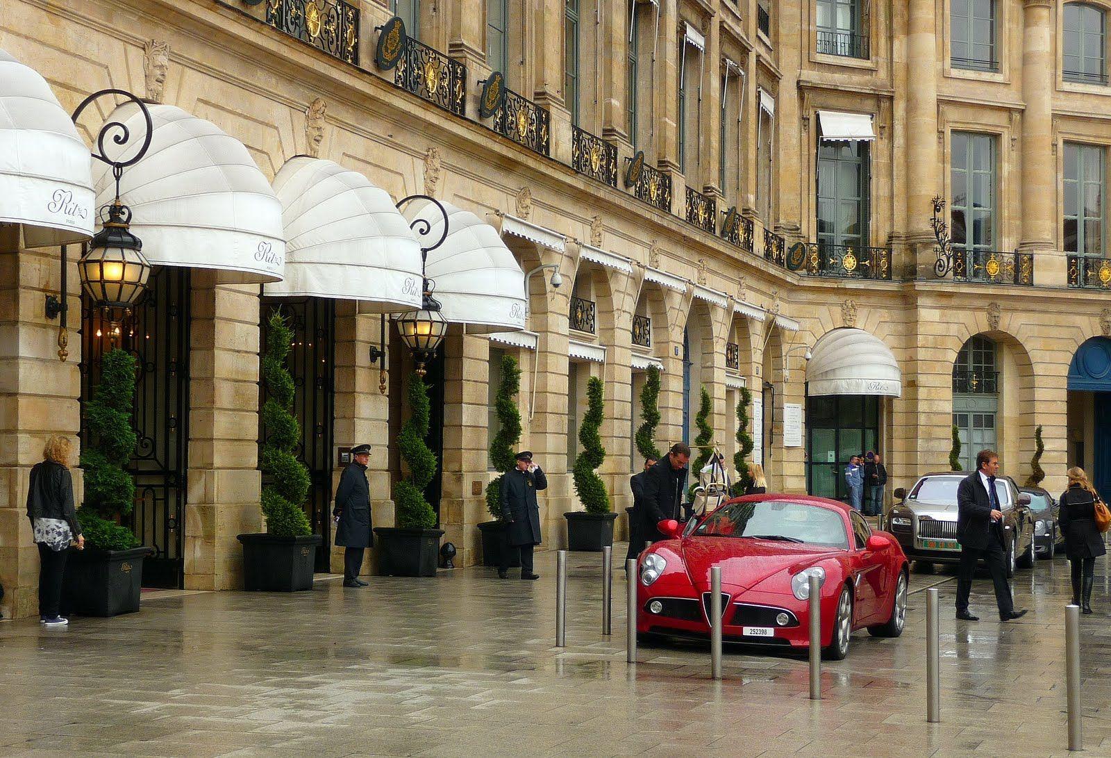 Ritz Paris.  15, Place Vendôme. Paris.