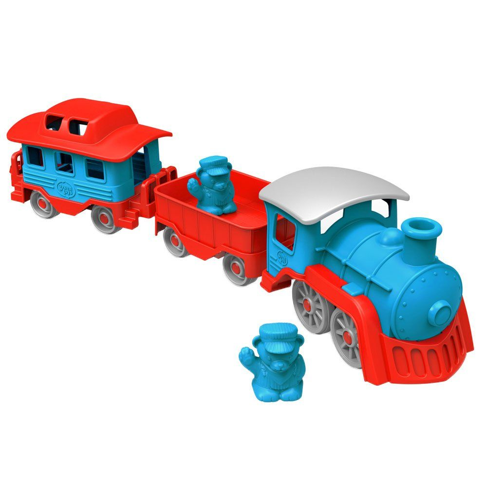 Little car toys  Green Toys Train BlueRed  The LITTLE man in my life  Pinterest