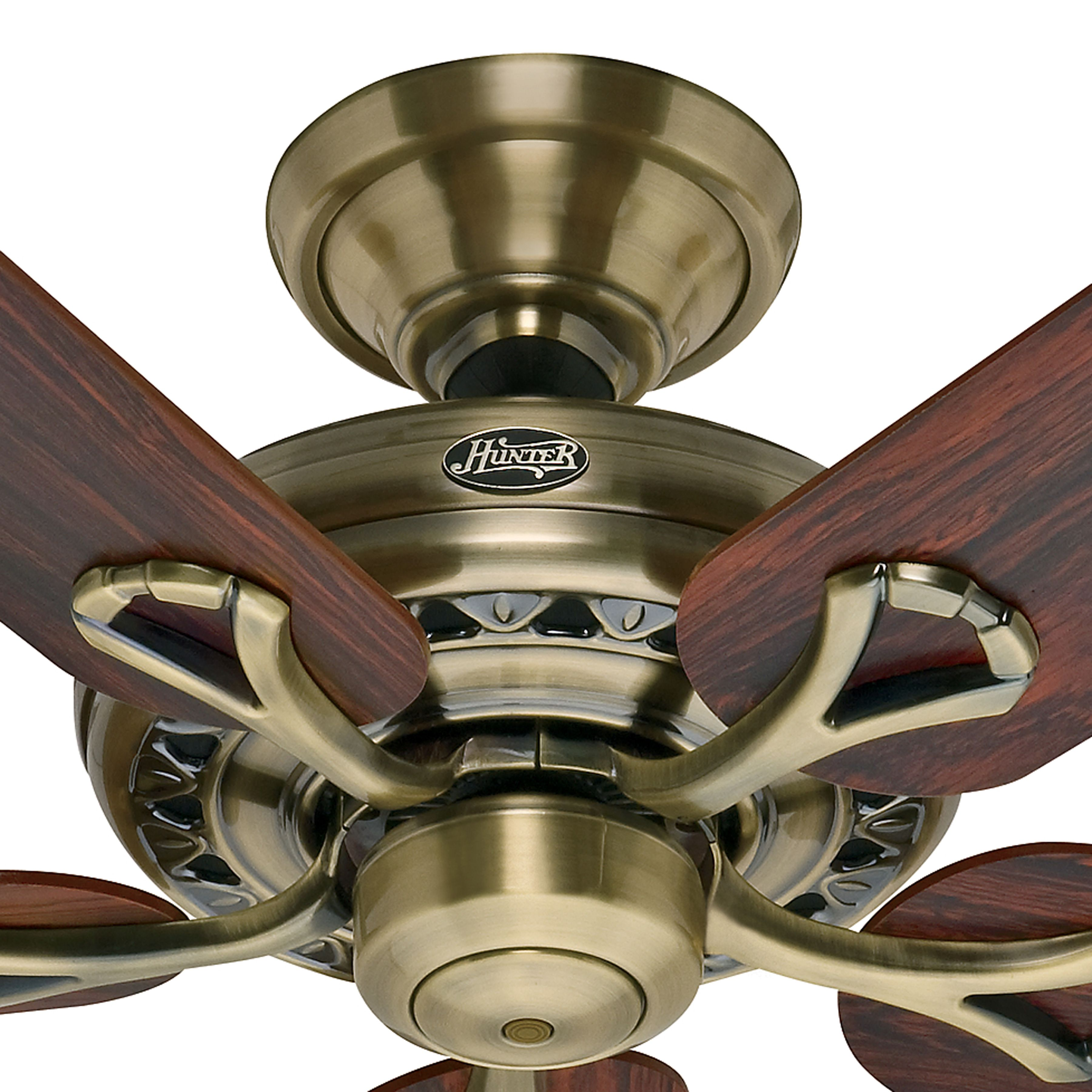 Hunter 52 Inch Energy Star Rated Antique Brass Finish Ceiling