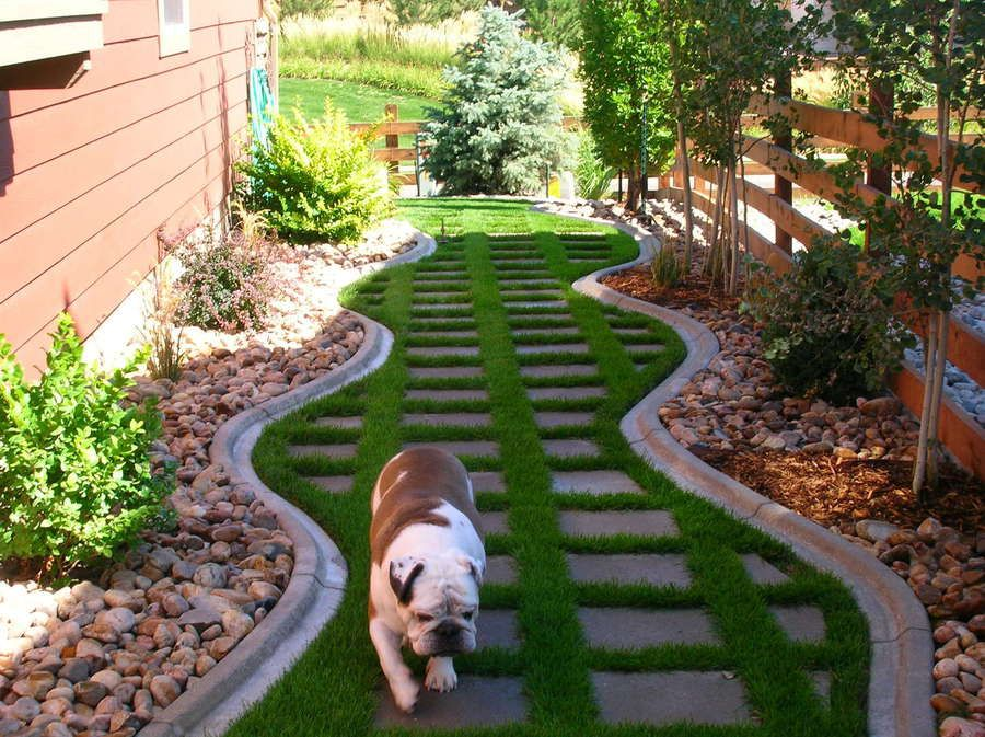 Decorative landscape borders installer of concrete En garden designs