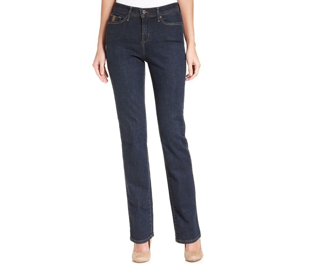 Levi's 512 Perfectly Slimming Straight Jeans Hammered Dark Women's size 10 NEW  29.99 http://www.ebay.com/itm/-/331603460417?