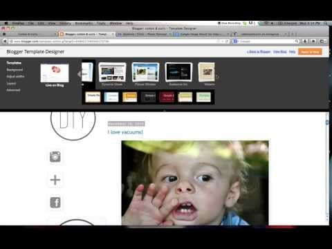 Customize your blogger blog (i.e. blogspot) with html and other tricks
