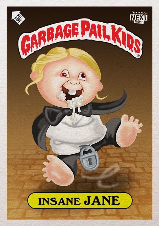 Twilight Garbage Pail Kids Garbage Pail Kids Garbage Pail Kids Cards Kids Stickers