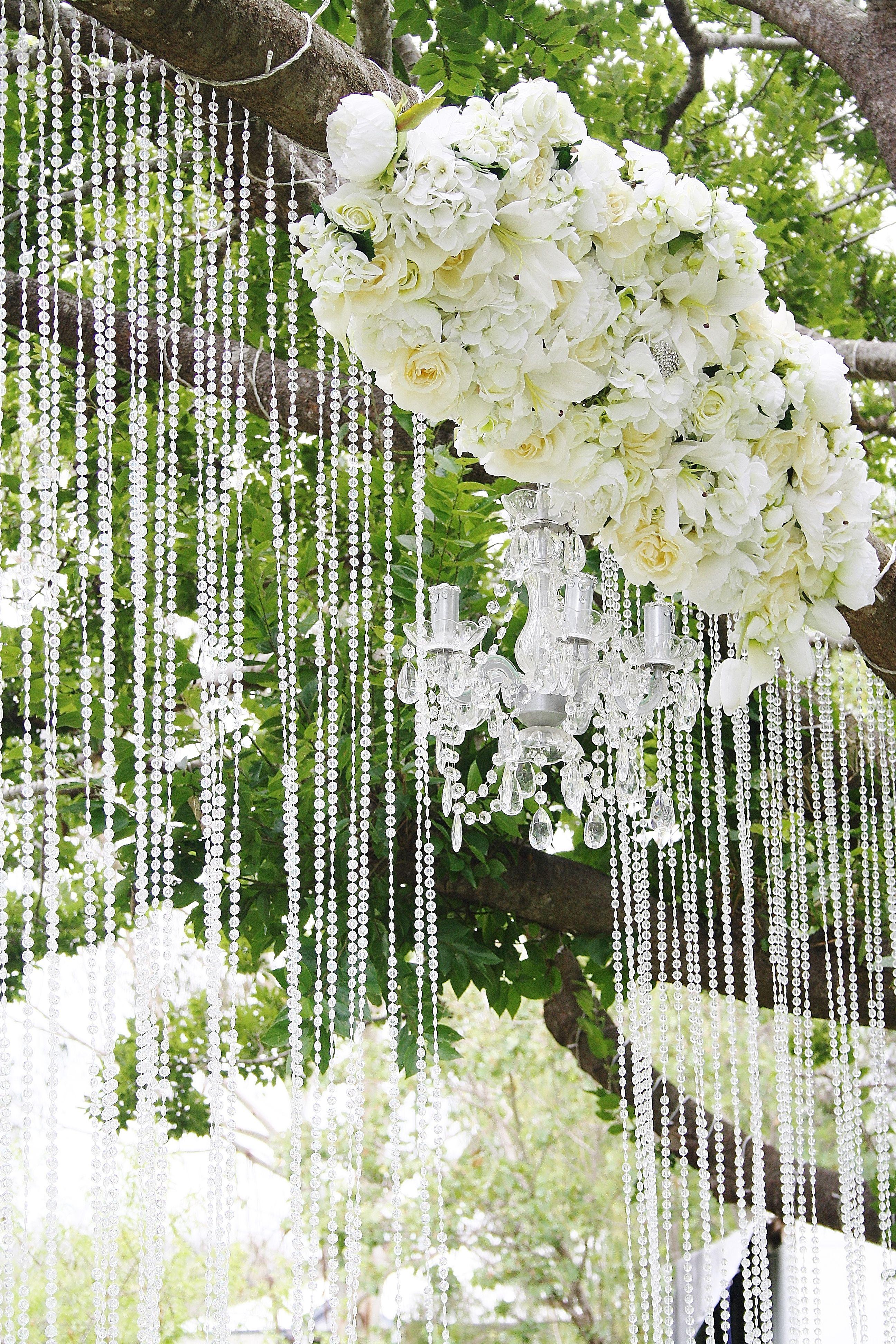 Fl Crystal Wedding Ceremony Backdrop