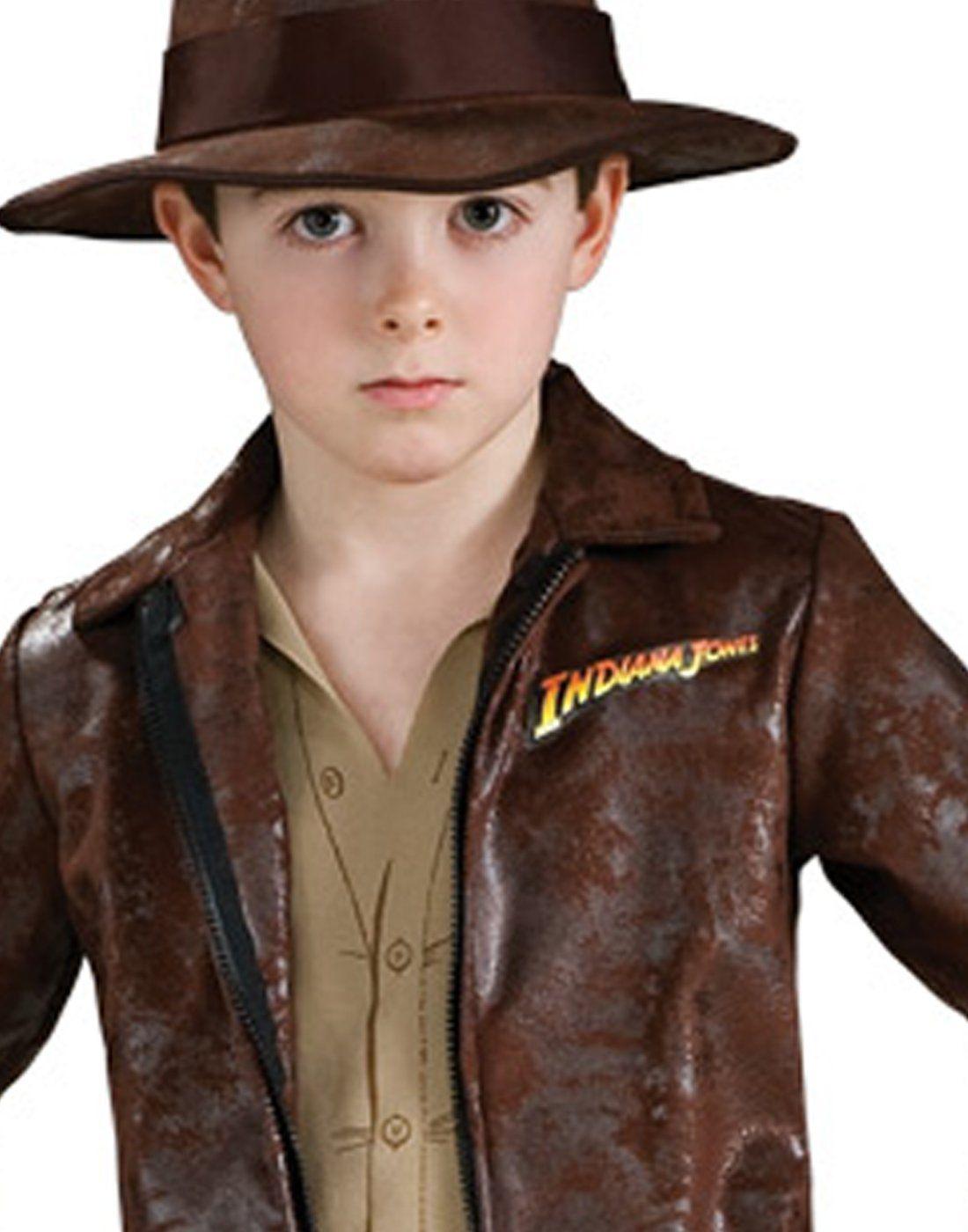 Deluxe Child Indiana Jones Fancy Dress Costume Small