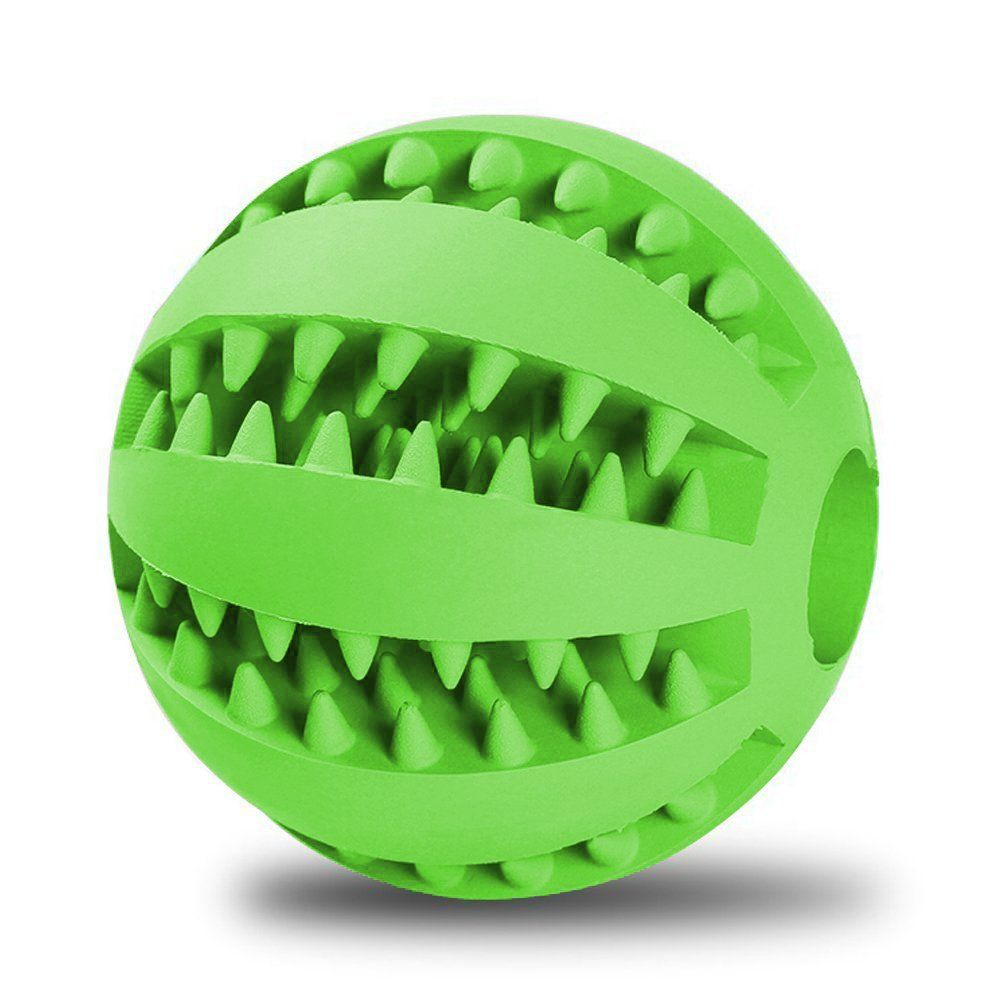 Ball Toys For Dogs 5ivepets Tooth Cleaning Rubber Ball Dog Toys