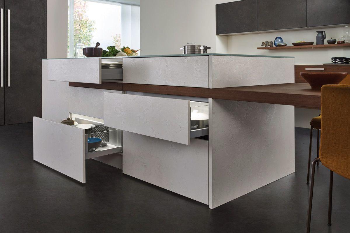Einbauküchen Modern topos concrete beton modern style küchen küchen marken