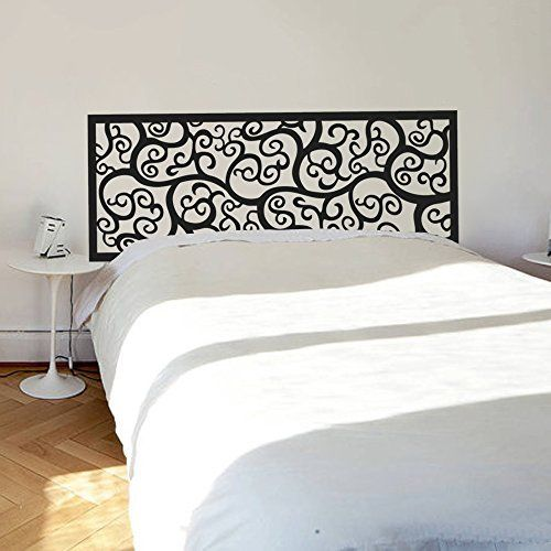 Wall Decal Decor Bed Decoration Baroque Flower Pattern st ...