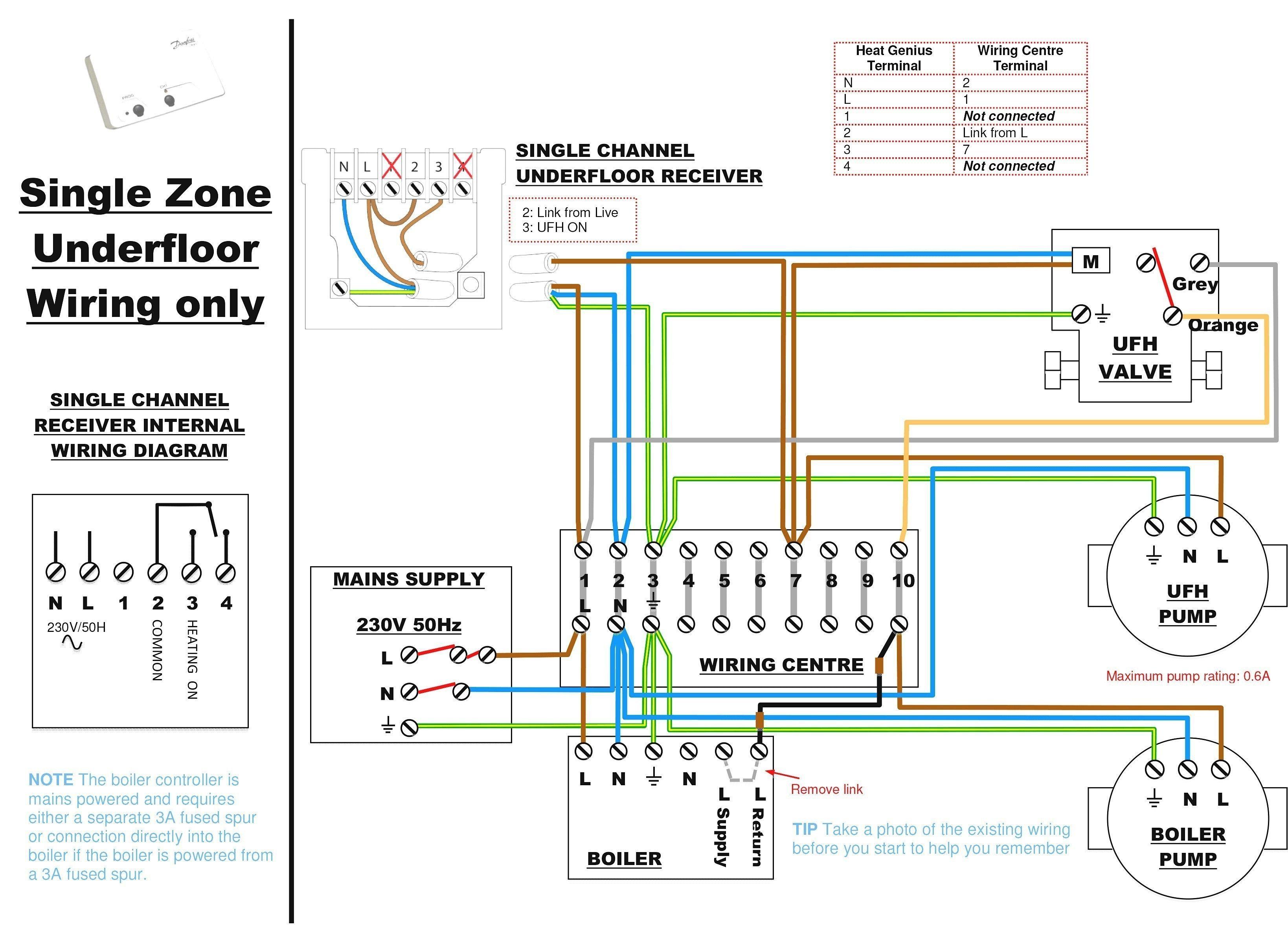 New Wiring Diagram for Combination Boiler (con imágenes