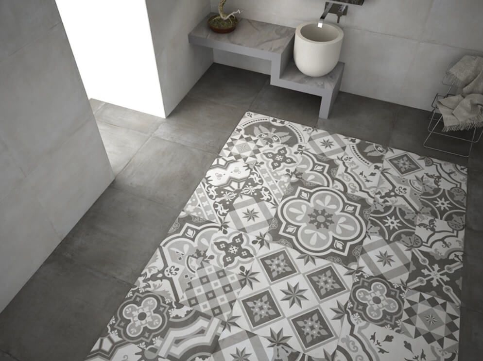 Grey Slate Floor Tiles Homebase