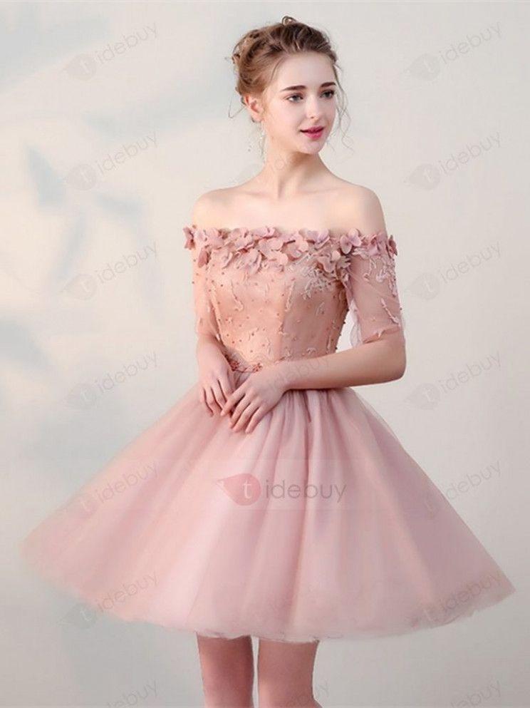 10 Kleid Kurz Rosa in 2020   Kleider, Schöne kleider ...