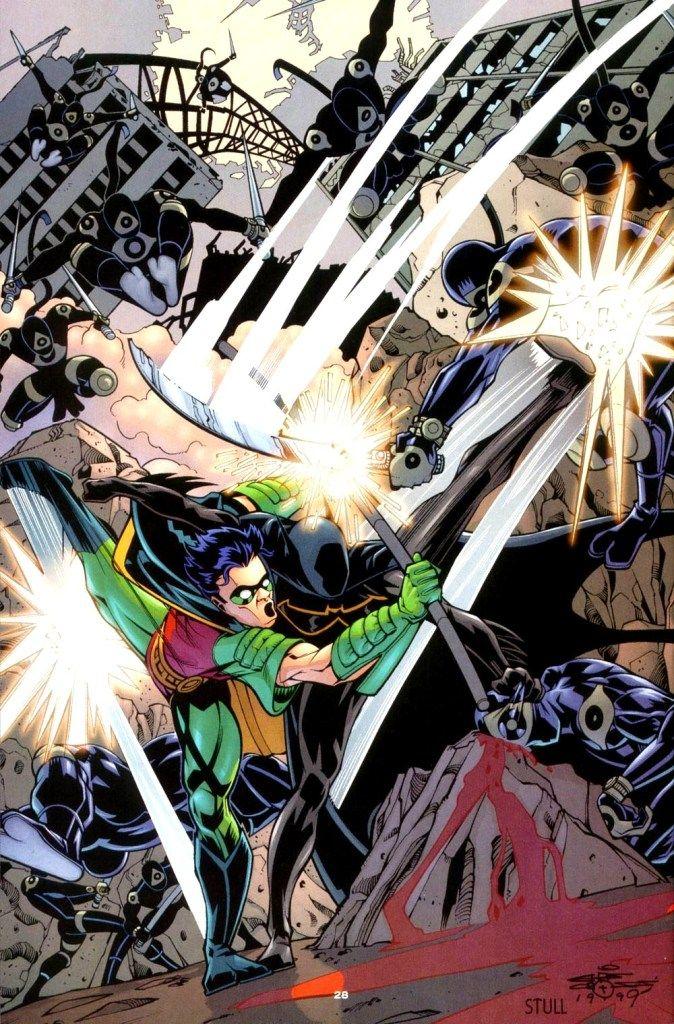 Batgirl (Cassandra Cain) and Robin