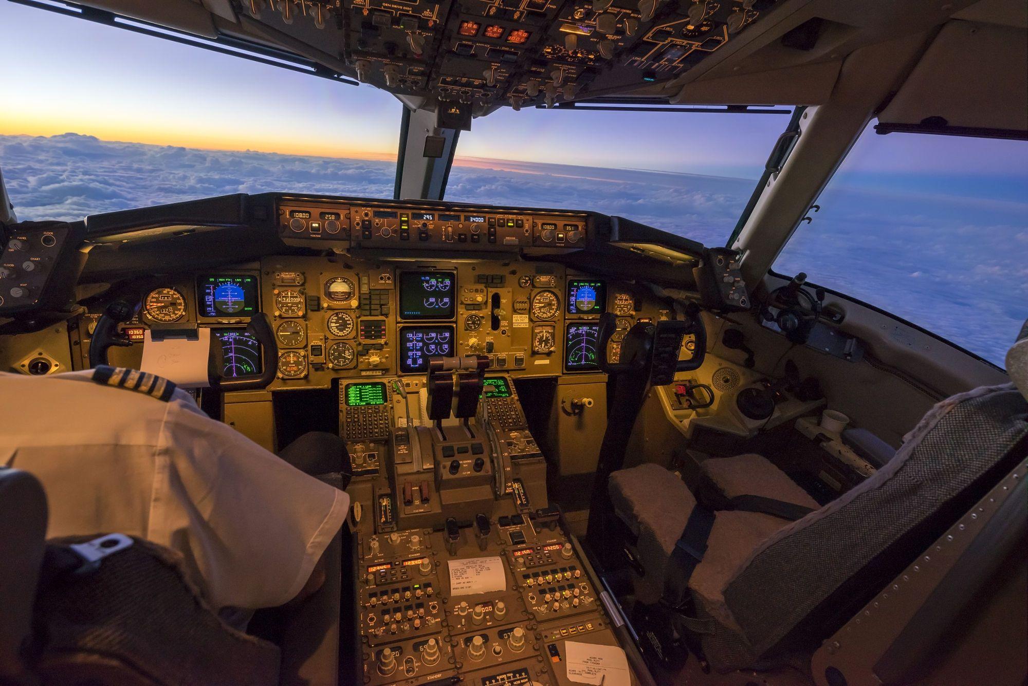 B767 300er Flight Deck By Scott Ritchie On 500px Flight Deck