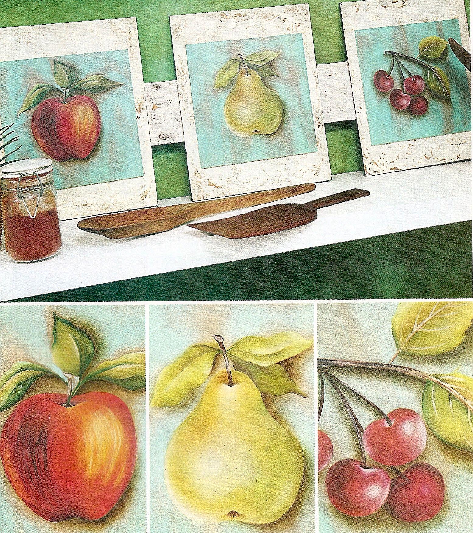 Cuadros de frutas para decorar nuestra cocina pintura - Cuadros para decorar ...