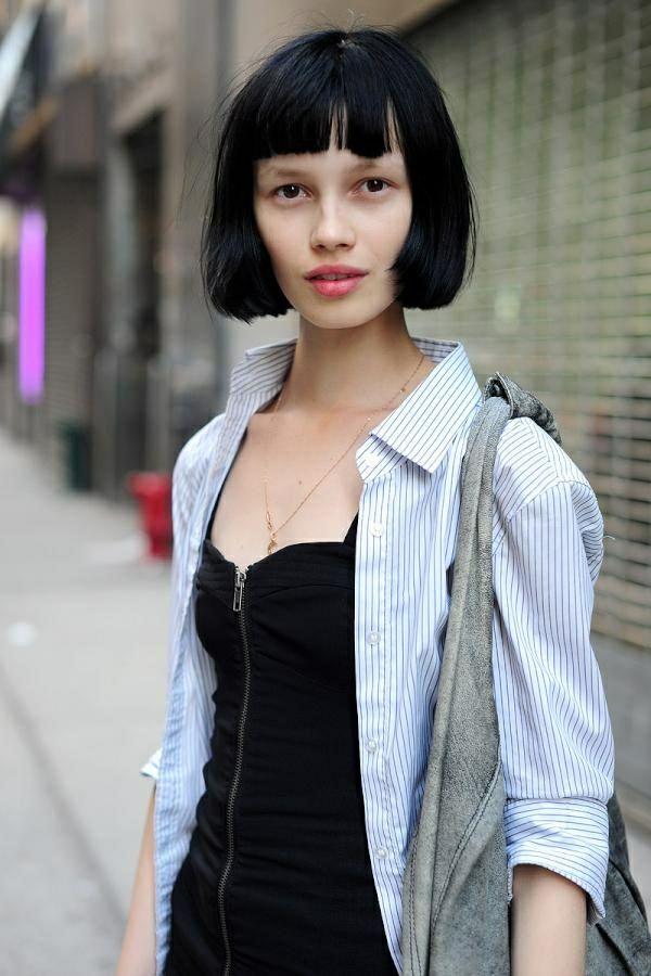 kurzhaafrisuren pagenkopf frisur haarschnitt trends kurze haare