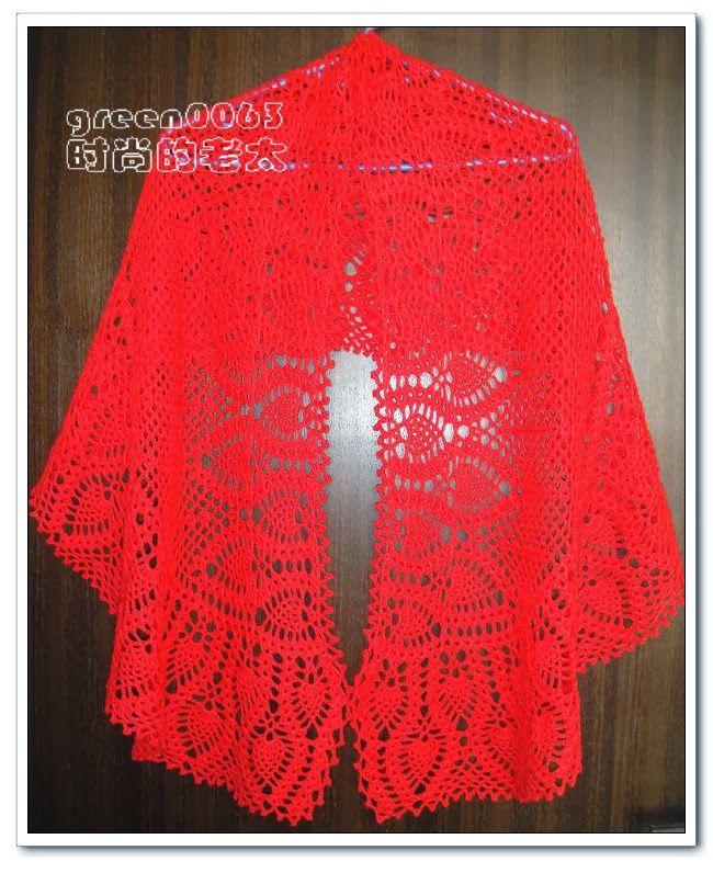 SHAWL CROCHET http://crochet103.blogspot.com/2013/12/shawl-crochet ...