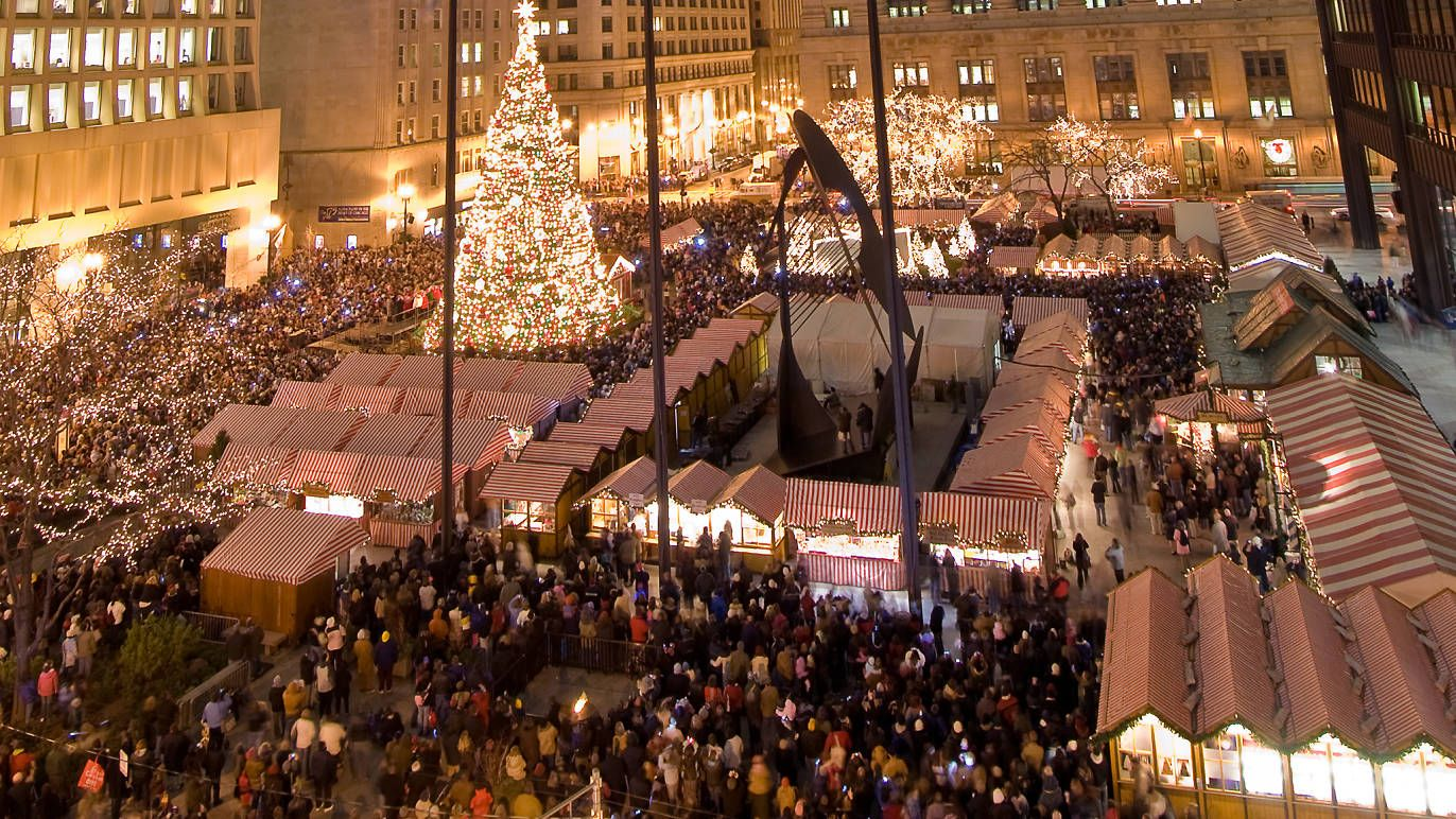 Chicago Christmas Events 2020 December 2020 events calendar for Chicago (With images) | Chicago