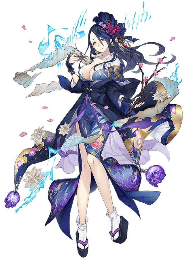 Princess Kaguya, Kimono Job Art from SINoALICE art