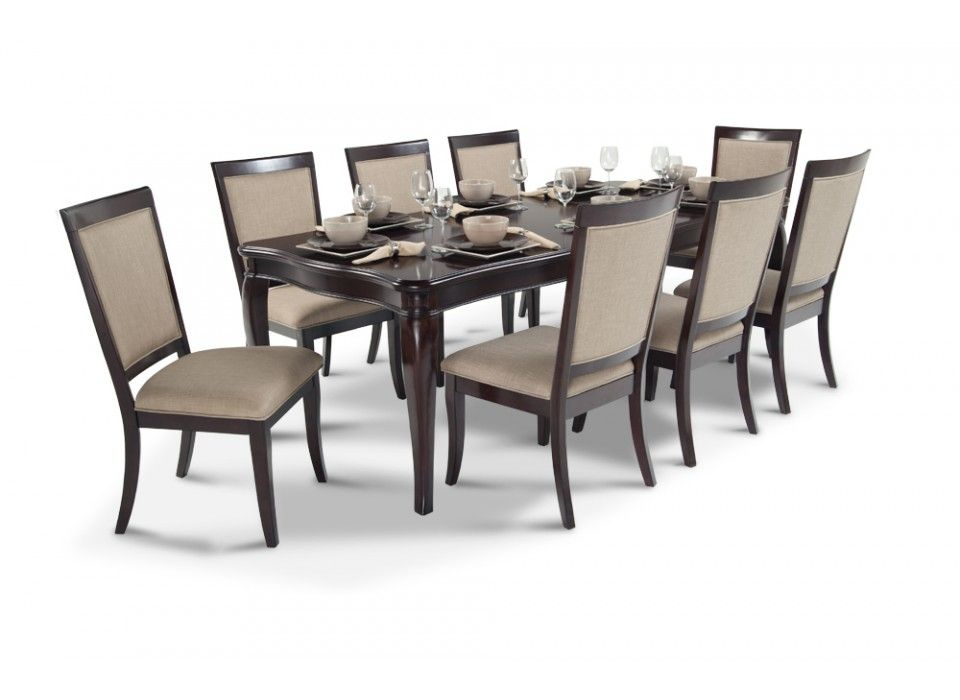 Gatsby 9 Piece Dining Set With Side Chairs| Dining Room Sets ...