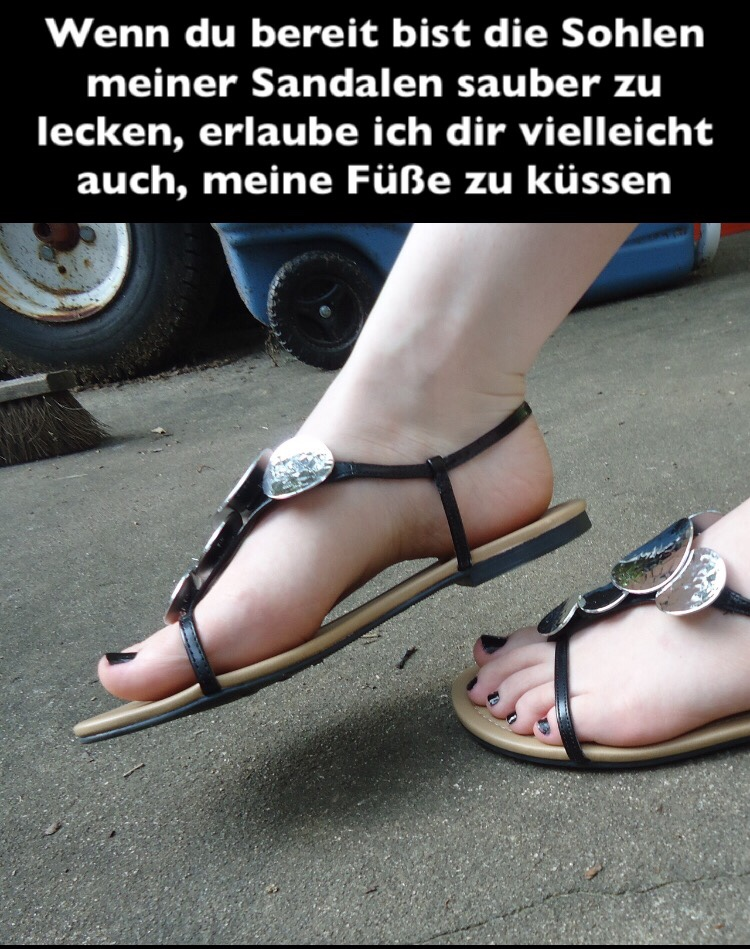 Sandals Masturbation