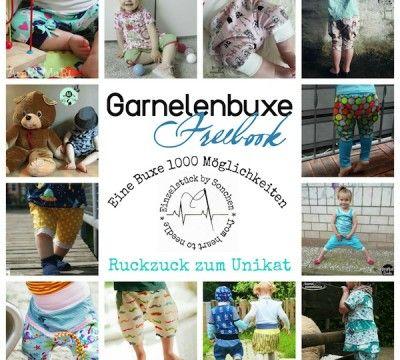 Freebook Garnelenbuxe - Hose mit vielen Varianten auch als Rock ...